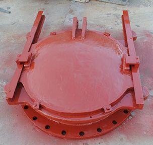 铸铁镶铜圆闸门(产品4)